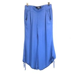 Rewash brand blue capri pants size Small